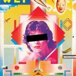 Portada de Wet Magazine por April Greiman
